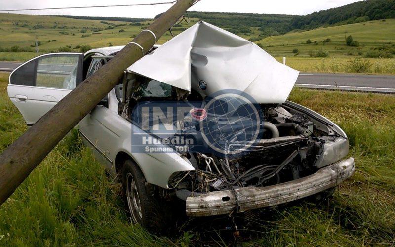 VIDEO – Accident la ieșire din Nădășelu