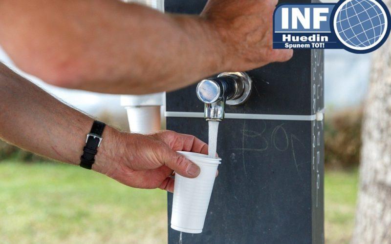 FOTO – Clujenii primesc apă potabilă pe timp de caniculă