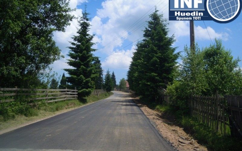 Se trasează marcaje rutiere pe mai multe drumuri judeţene