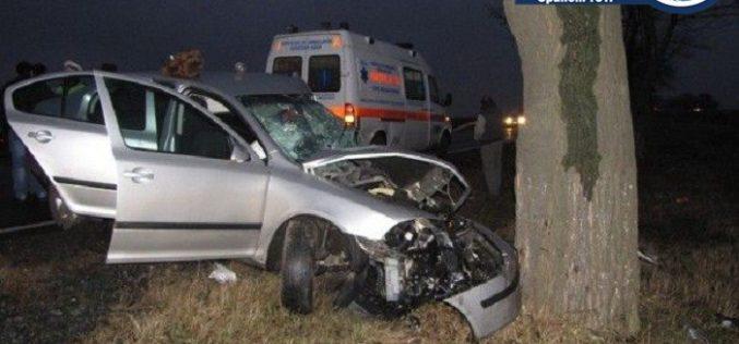 Accident grav la Valea Drăganului. Șoferul era rupt de beat, o femeie a fost rănită