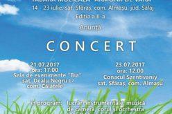Concert gratuit la Dealu Negru