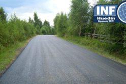 FOTO – Au fost finalizate lucrările de asfaltare pe drumul județean Râșca – Beliș. Cum arată după reabilitare