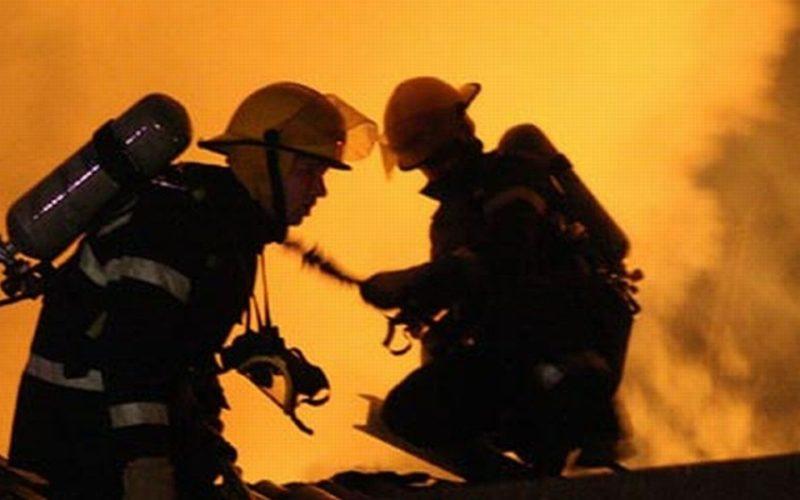 Incendiu la Mărgău! Au fost la un pas de a-și aprinde casele din neglijență
