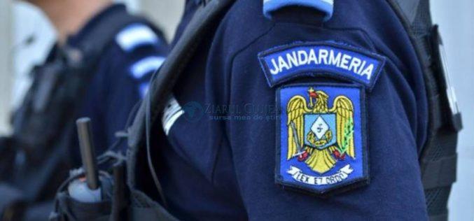 Jandarmii descind la Valea Drăganului