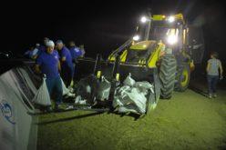 FOTO – În județul Cluj a avut loc primul exercițiu de simulare nocturn pentru intervenții în caz de inundații din România