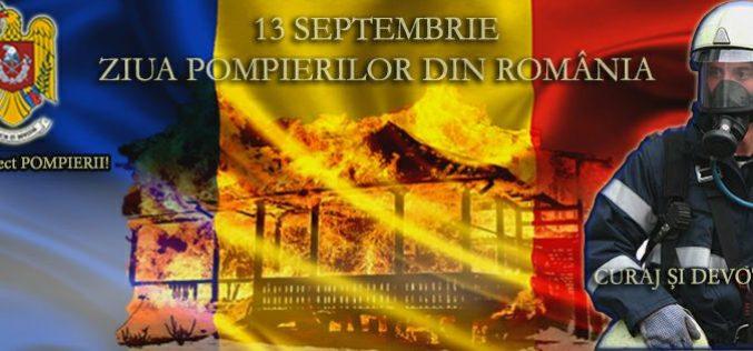 Ziua  pompierilor din România, sărbătorită joi la Huedin. Care este programul