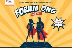 Prezentări despre cum se pot obține granturi pentru ONG-uri și premii pentru publicul donator la Forumul ONG, ediția a III-a, 26 octombrie 2017