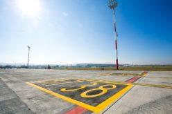 """FOTO – Aeroportul Internațional """"Avram Iancu"""" Cluj are o nouă platformă operațională"""