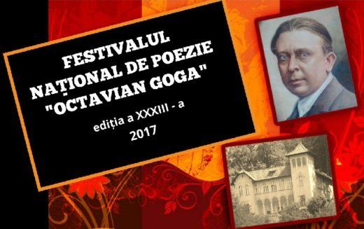 """Festivalul Național de Poezie ,,Octavian Goga"""", ediția a XXXIII-a se organizează la Ciucea"""