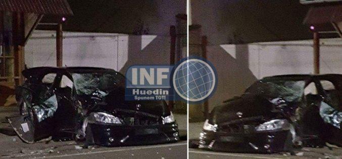 FOTO – Beizadea de Huedin! Dragoș Demea, BEAT la volan, implicat într-un accident grav