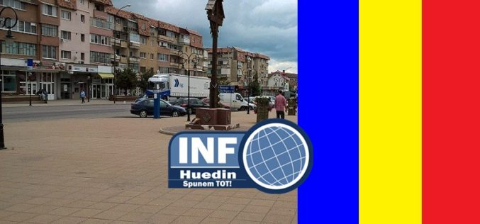 Depuneri de coroane în Huedin, de Ziua Națională a României
