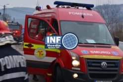 FOTO – Accident terifiant în Aghireșu Fabrici