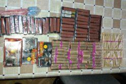 FOTO – Peste 5.000 de articole pirotehnice confiscate de poliţiştii clujeni, cele mai multe în Huedin