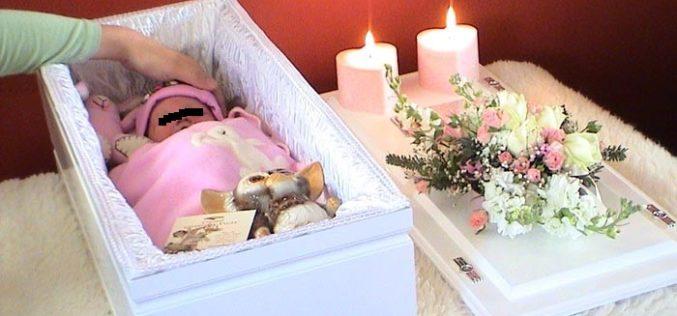 Bebeluș mort în condiții suspecte la Călățele. La Spitalul Huedin a fost adus cu pete cadaverice