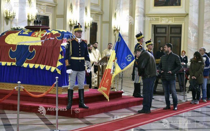 Trei zile de doliu național în memoria Regelui Mihai I