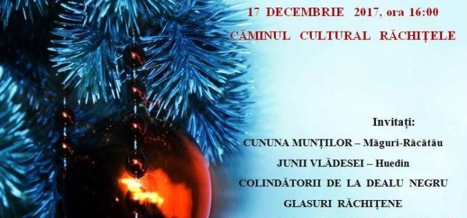 Târg de Crăciun la Răchițele, cu evenimente deosebite. Intrarea este liberă!