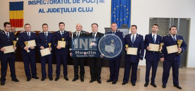 """FOTO – Al treilea an la rând, polițiștii din Beliș poartă """"în cârcă"""" onoarea Poliției Huedin. Cel mai bun post de poliție din județul Cluj!"""