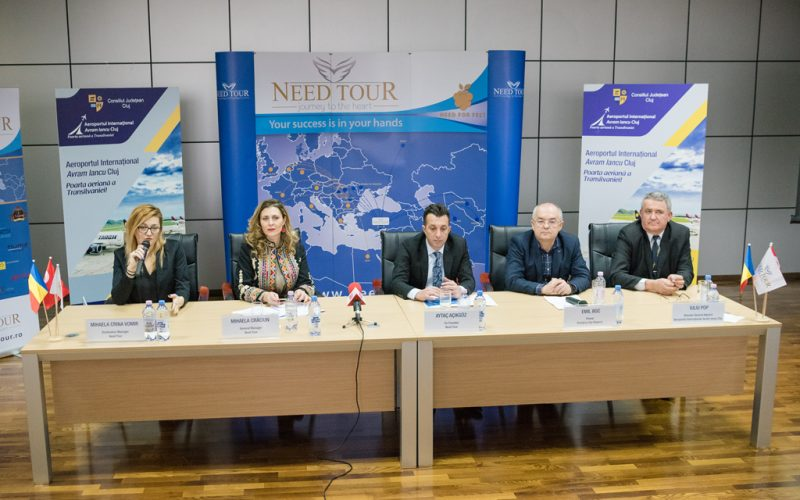 """Aeroportul Internațional """"Avram Iancu"""" Cluj anunţă noi zboruri turistice şi un sezon extins în anul 2018"""