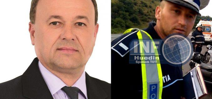 AUDIO – Ionuț Condor, primarul din Mănăstireni, declarații despre relația cu polițiștii din comuna păstorită de el