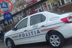 Șefii IPJ Cluj au demarat cercetarea administrativă a polițistului care a parcat autospeciala în fața trecerii de pietoni