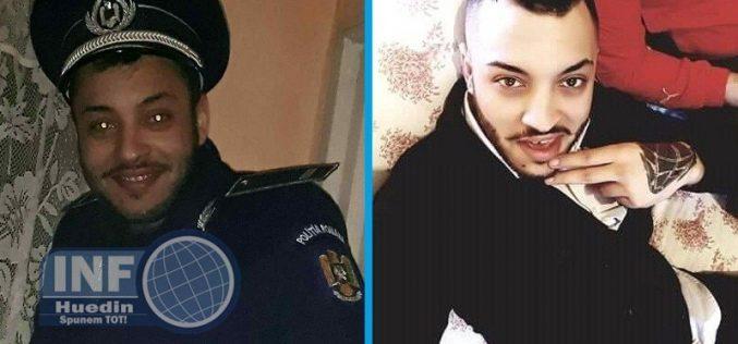 FOTO – Uniforma Poliției Române batjocorită în Huedin pentru a patra oară în ultimii ani