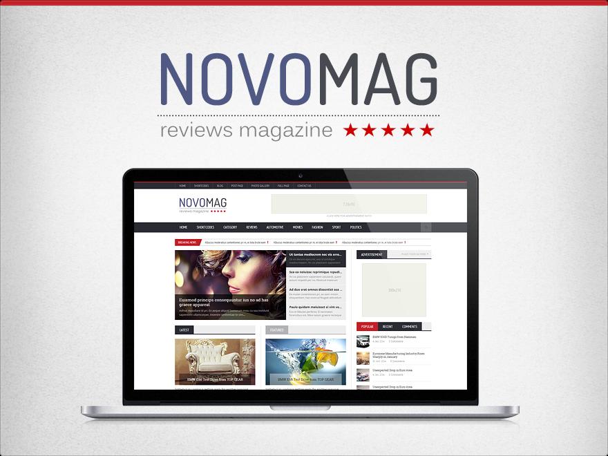 novomag theme