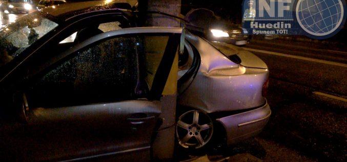 Accident în Negreni, autoturismul nu era în regulă cu actele. Șoferul are dosar penal