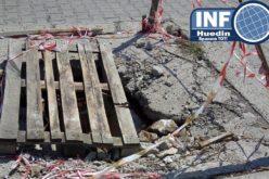 FOTO – Primăria Huedin așteaptă o nenorocire pentru a lua măsuri