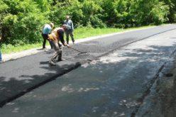Lucrări pregătitoare în vederea asfaltării unui nou tronson al drumului județean Scrind – Răchițele