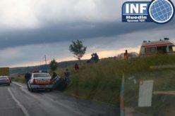 FOTO – Accident grav la Izvorul Crișului