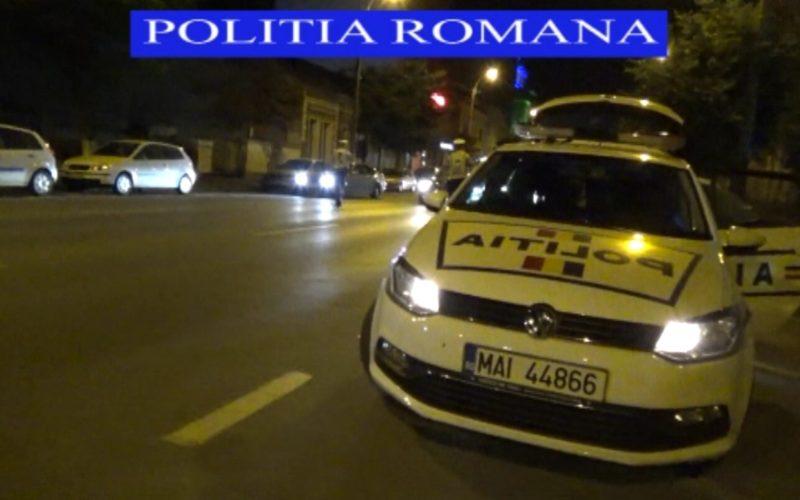 La ordinul șefului mare de la Cluj-Napoca, polițiștii din Huedin au făcut noapte albă în stradă, cum nu s-a mai văzut în zonă de ceva vreme