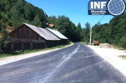 FOTO – Cum arată drumul județean Scrind – Răchițele după finalizarea lucrărilor