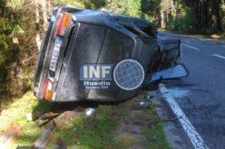 FOTO – Accident la Călățele. Șoferul din Sălaj era beat turtă și nu avea permis