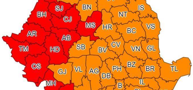 Huedinul se topește! Meteorologii au emis cod roșu de avertizare. Ce temperaturi trebuie să suportăm