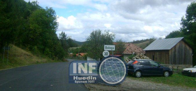 FOTO – Lucrări de asfaltare finalizate pe drumul județean 103H Bologa – Săcuieu, pe raza localităţii Bologa