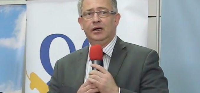 David Ciceo, directorul general al Aeroportului Internaţional Cluj-Napoca, prezidează lucrările Conferinței ORAT