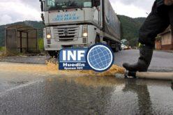 Furtuna de duminică a făcut ravagii în județul Cluj. La Huedin au fost probleme cu inundațiile în două locații