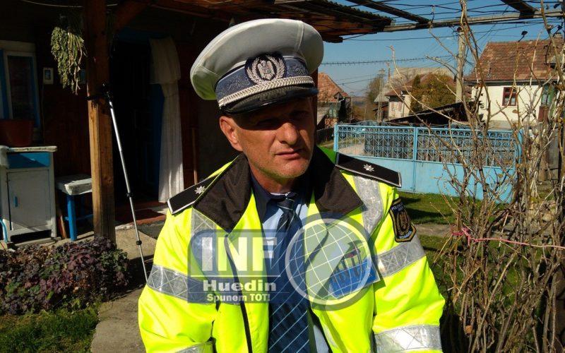 Polițistul local din Călățele are probleme după ce a folosit uniforma Poliției Române. Care este rezultatul anchetei