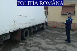 FOTO – Autoutilitară confiscată cu tot cu lemne la Sâncraiu
