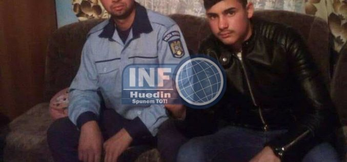 FOTO – ATENȚIE! Polițist FALS în Huedin. Polițiștii adevărați nu au aflat că cineva batjocorește haina statului