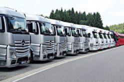 Transportatorii, proteste în toate marile orașe și în fața Guvernului