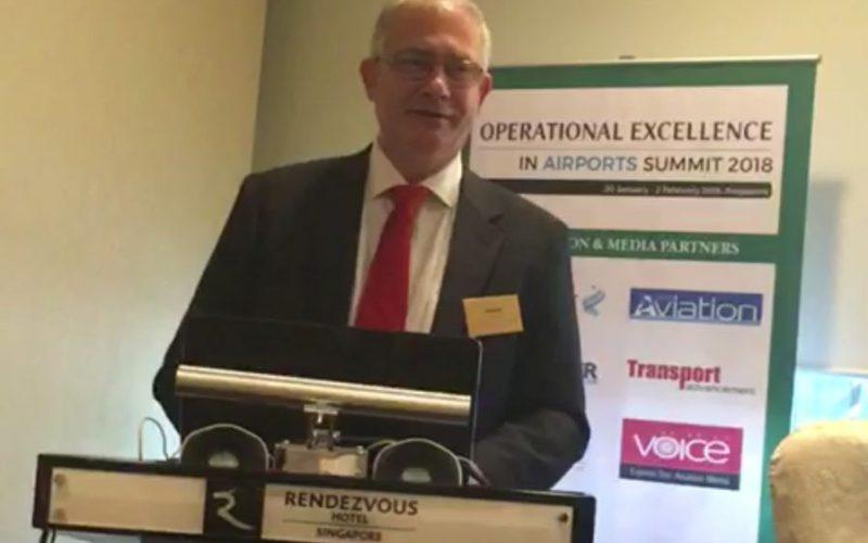 """David Ciceo, directorul general al Aeroportului Internaţional """"Avram Iancu"""" Cluj, prezidează o prestigioasă conferinţă din domeniul aviaţiei la Singapore"""