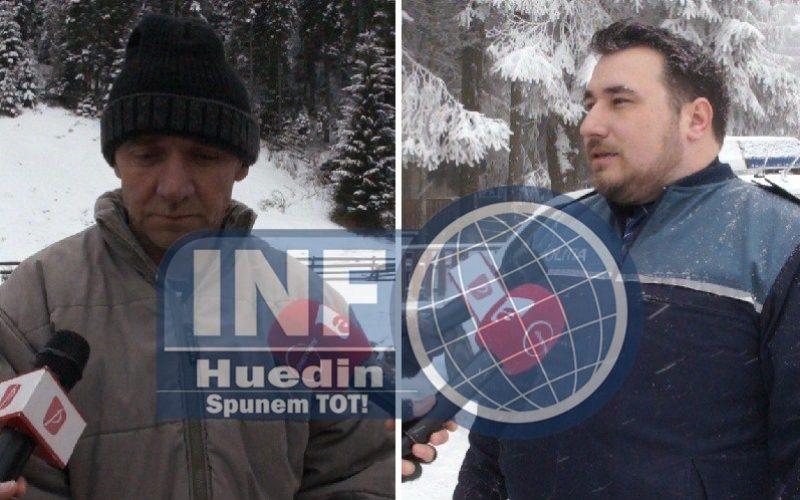 VIDEO – Șeful Postului de Poliție Beliș i-a impresionat pe localnicii din Poiana Horea. Gestul omului legii, fără comentarii