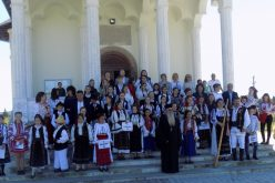 """FOTO – Elevi din patru județe, la concursul """"Icoana Micului Creștin"""". Evenimentul, organizat la Mănăstirea Râșca Transilvană"""