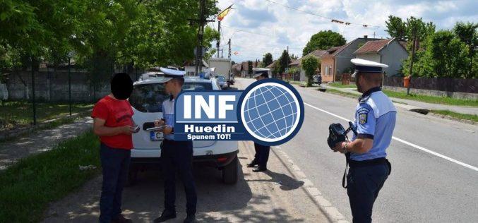 FOTO – Huedin, în rândul orașelor din județul Cluj, cu razii de amploare ale polițiștilor
