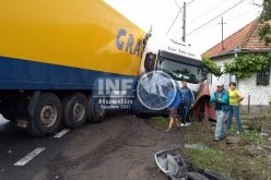 FOTO/VIDEO – Accident la Negreni