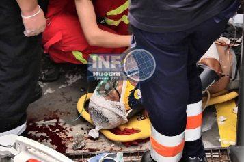 VIDEO – Bărbat din Aghireșu, rănit grav pe un șantier din Cluj-Napoca