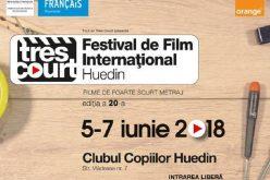 """Festivalul Internațional de Foarte Scurt Metraj """"Très Court"""" ajunge la Huedin"""