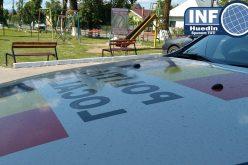 Cocalarul cu BMW, amendă maximă de la Poliția Locală Huedin pentru drifturile din Parcul Tineretului