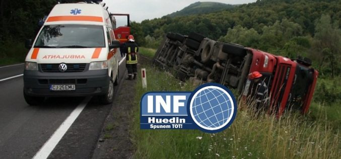 VIDEO – Accident între Bologa și Huedin